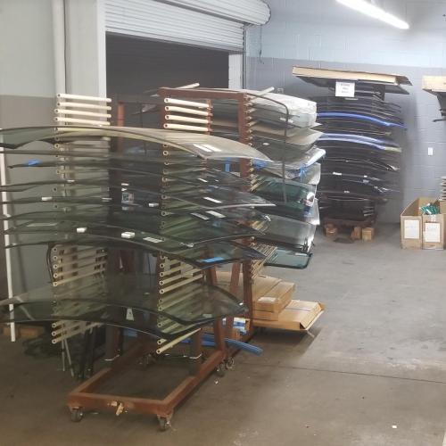 5 racks of inventory